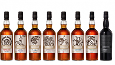 ny serie af Game of Thrones-whiskyer